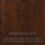 CHERRY SADDLE