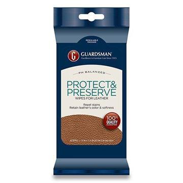 Picture of Guardsman Leather Care - Protect & Preserve Wipes