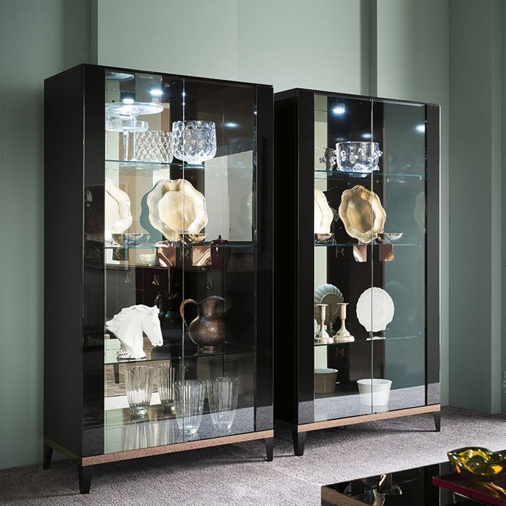 ... Picture Of ALF Mont Noir Dining Collection Curio Cabinet