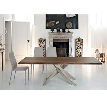 Picture of Bontempi Casa Artistico Dining Table 20.02 Heritage Walnut