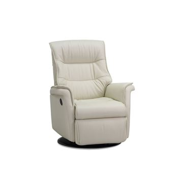 Picture of IMG Chelsea Medium Power Motion Recliner - Cream Leather