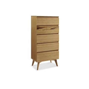 Picture of Greenington Azara Tall Chest of Drawers Caramelized Finish