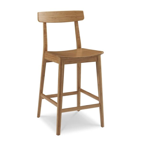 Picture of Greenington Currant Barstool - Caramelized Finish