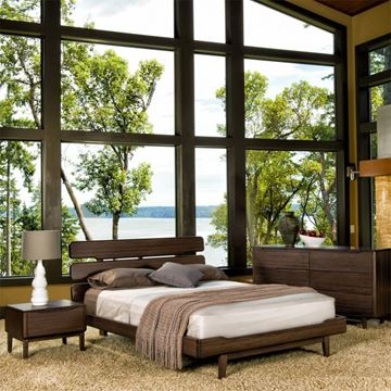 Picture of Greenington Currant Bedroom Set in Black Walnut Finish