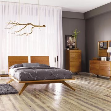 Picture of Copeland Furniture Astrid Bedroom Set in Cherry