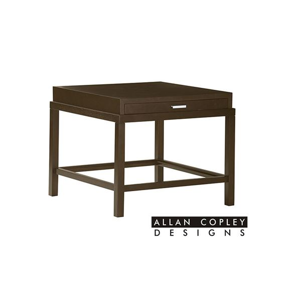 Picture of Allan Copley Spats End Table - Espresso Finish