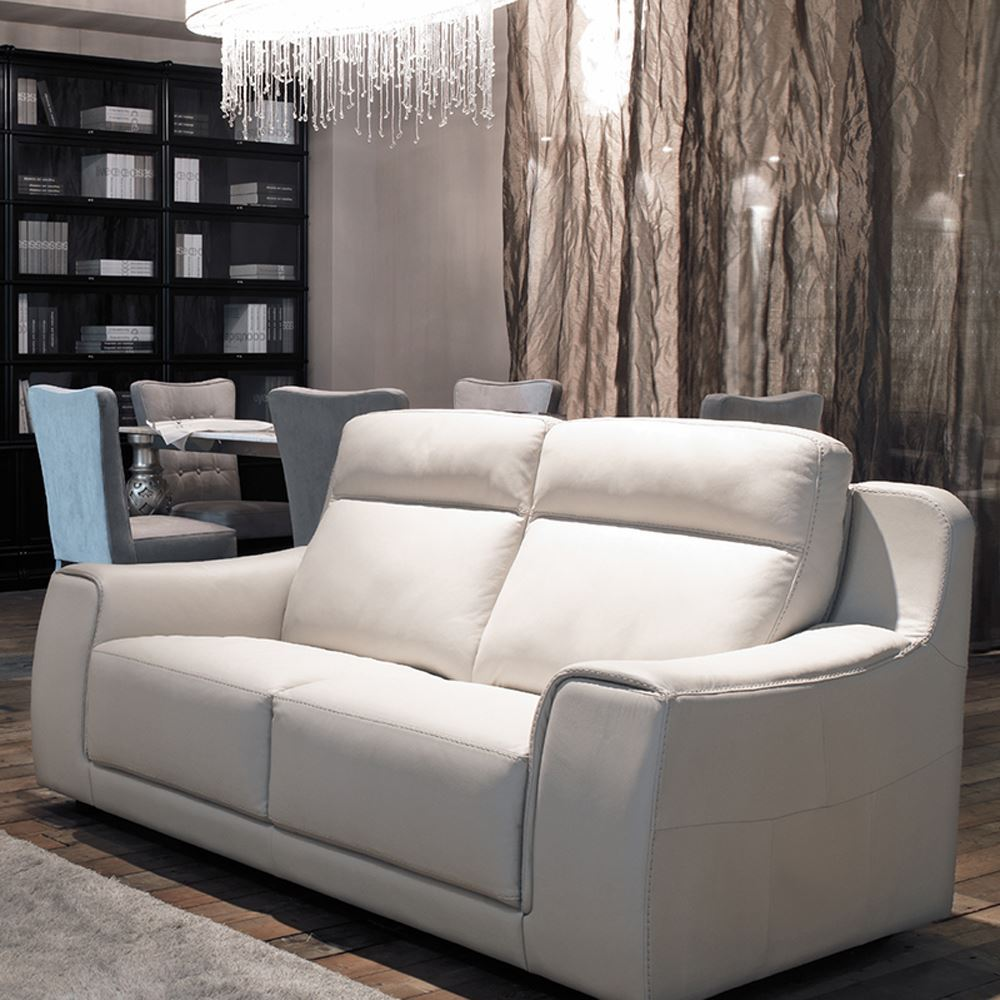 Fosters Furniture Idp Italia Funes Reclining Sofa In Stock