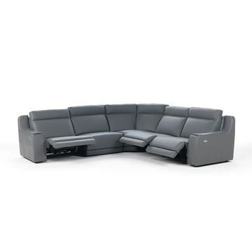 Picture of IDP Italia Funes Reclining Sectional - In Stock