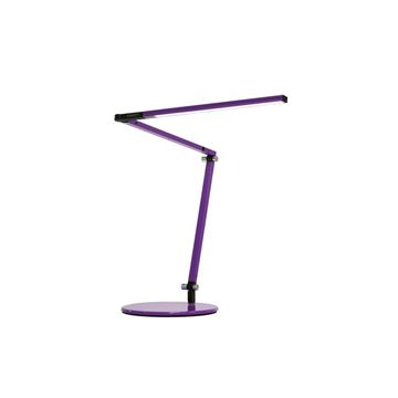 Picture of Koncept Z Bar Mini Table Lamp - Purple Finish