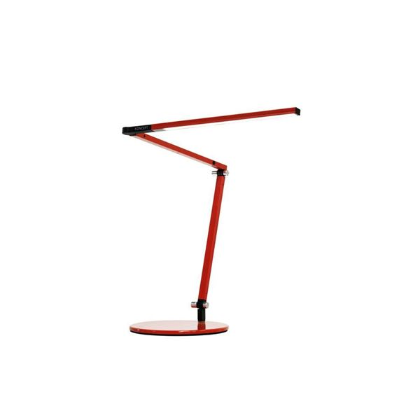 Picture of Koncept Z Bar Mini Table Lamp - Red Finish