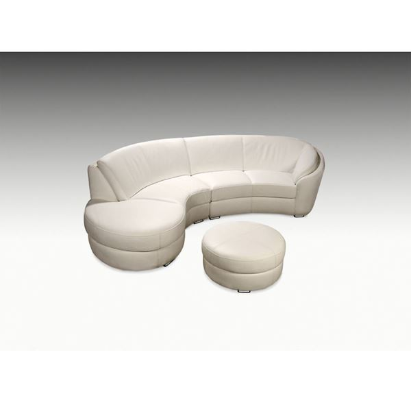 Picture of Planum Rusco Left Bumper Leather Sectional - In Stock