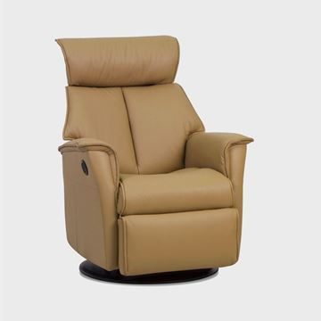 Picture of IMG Boss Medium Size Motorized Recliner in Trend Pebble - In Stock