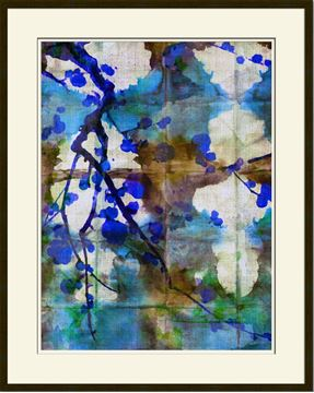 Picture of Picture Source Abstract Shibori Blossom I