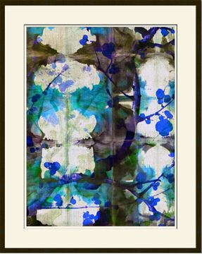 Picture of Picture Source Abstract Shibori Blossom II