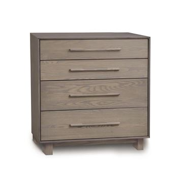 Picture of Copeland Furniture Sloane Solid Ash 4 Drawer Chest