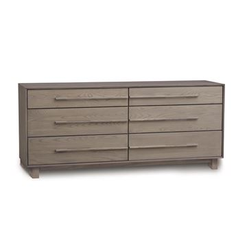 Picture of Copeland Furniture Sloane 6 Drawer Dresser in Solid Ash