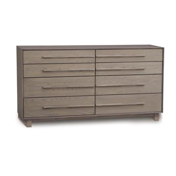 Picture of Copeland Furniture Sloane 8 Drawer Dresser in Solid Ash