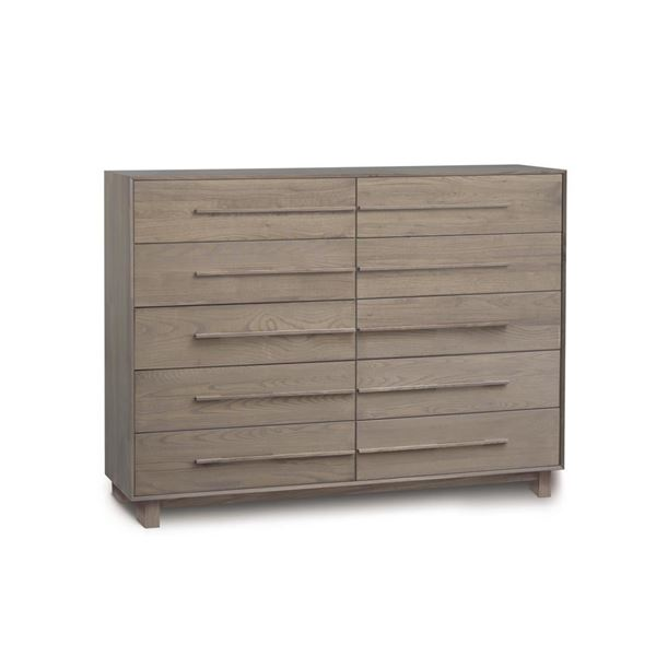 Picture of Copeland Furniture Sloane Solid Ash 10 Drawer Dresser