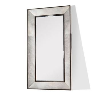 Picture of Moderna Casa Floor Mirror In Grey Brindle