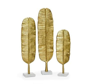 Picture of Moderna Casa Gold Palm Leaves