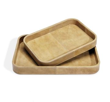 Picture of Moderna Casa Servidor Trays in Tan