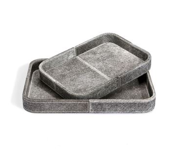 Picture of Moderna Casa Servidor Trays in Brindle Ash