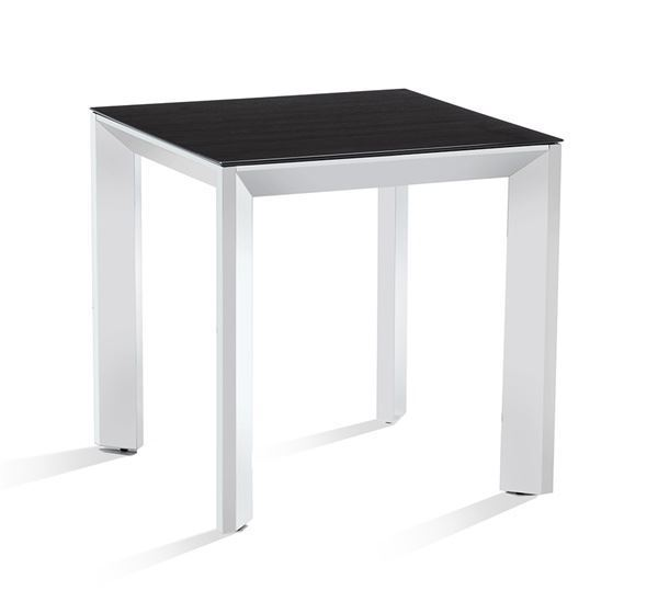 Picture of Moderna Casa Square Side Table in Stainless Steel
