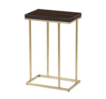 Picture of Moderna Casa Slim Accent Table, Brass Finish