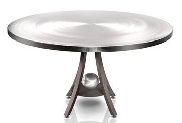 Picture of Oios Mercury Dining Table In Stainless