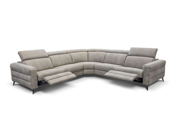 "Picture of Bracci Ermes Maxi Reclining Sectional 129""x129"""