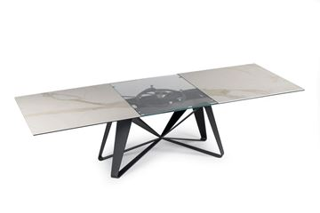 Picture of Naos Flocon Dining Table Keramik Marble Tops