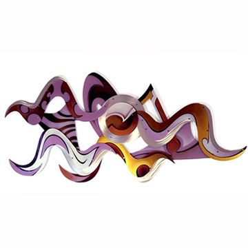 Picture of H Studio Vision Wall Sculpture Amethyst