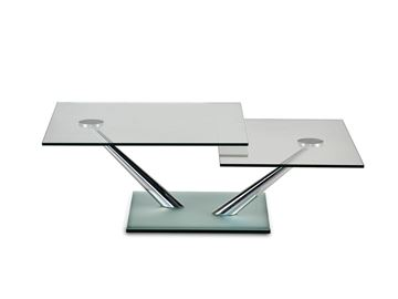 Picture of Naos Cassius Coffee Table + Satin Mirror