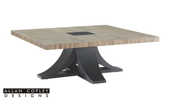 Picture Of Allan Copley Bonita Square Tail Table