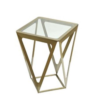 Picture of Allan Copley Prizmaas End Table With Clear Glass
