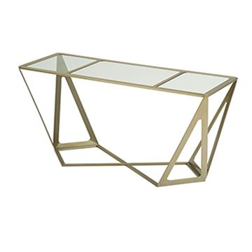 Picture of Allan Copley Prizmaas Console Table With Clear Glass