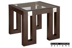 Picture of Allan Copley Calligraphy End Table