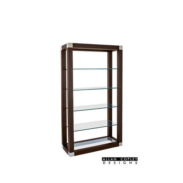Picture of Allan Copley Calligraphy Etagere Book Shelf