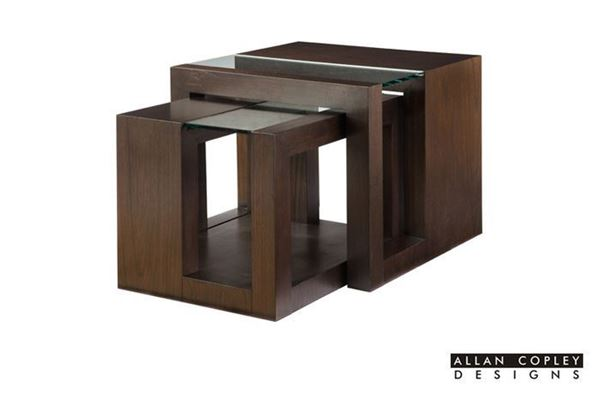 Picture of Allan Copley Dado Nesting Table