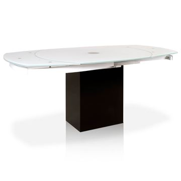 Picture of Star International Era Extension Dining Table | White
