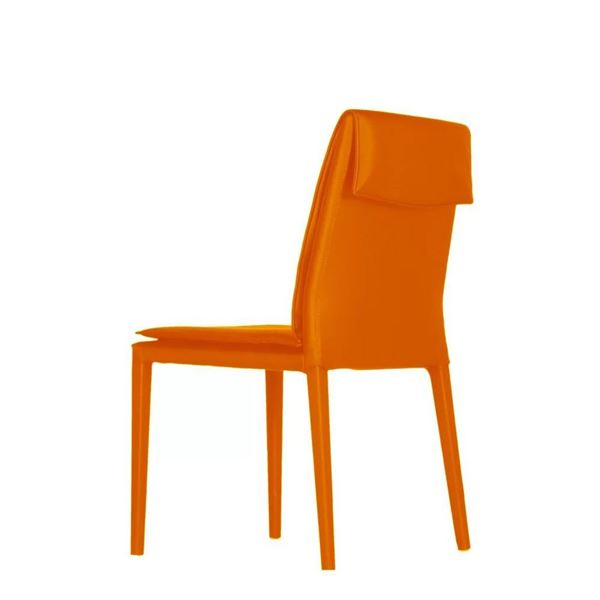 Picture of Bellini Modern Daisy Side Chair - Orange