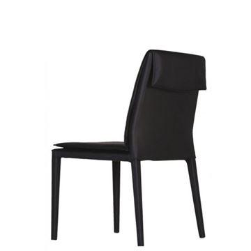 Picture of Bellini Modern Daisy Side Chair - Brown