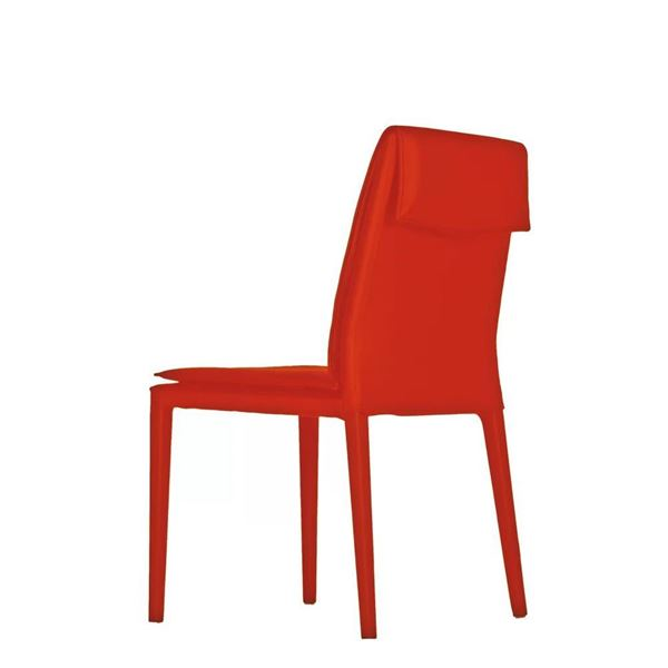 Picture of Bellini Modern Daisy Side Chair - Red