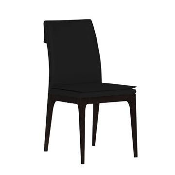 Picture of Bellini Modern Rosetta Side Chair - Black