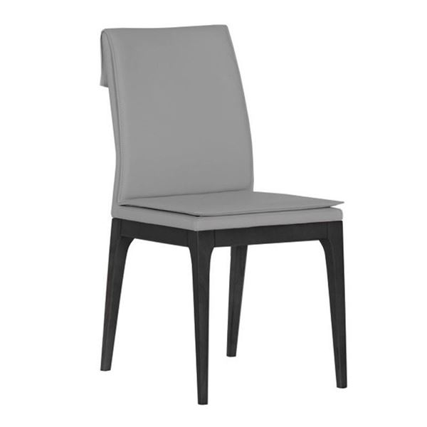 Picture of Bellini Modern Rosetta Side Chair - Gray