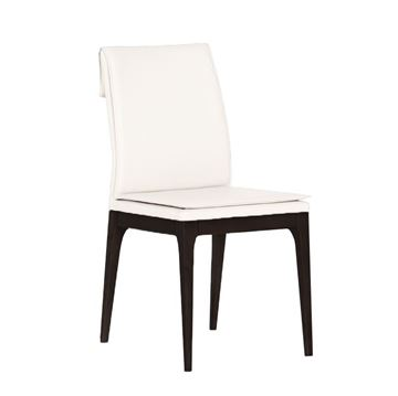 Picture of Bellini Modern Rosetta Side Chair - White