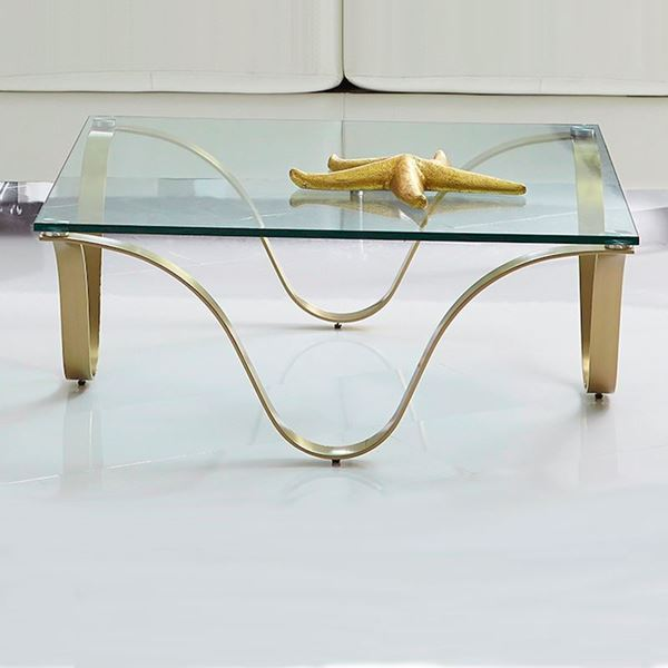 Picture of Bellini Modern Murano Coffee Table - Champagne