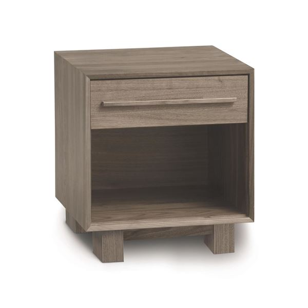 Picture of Copeland Furniture Sloane Solid Ash 1 Drawer Nightstand