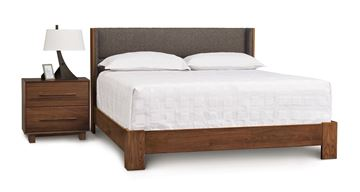 Picture of Copeland Furniture Sloane Walnut Queen Bed