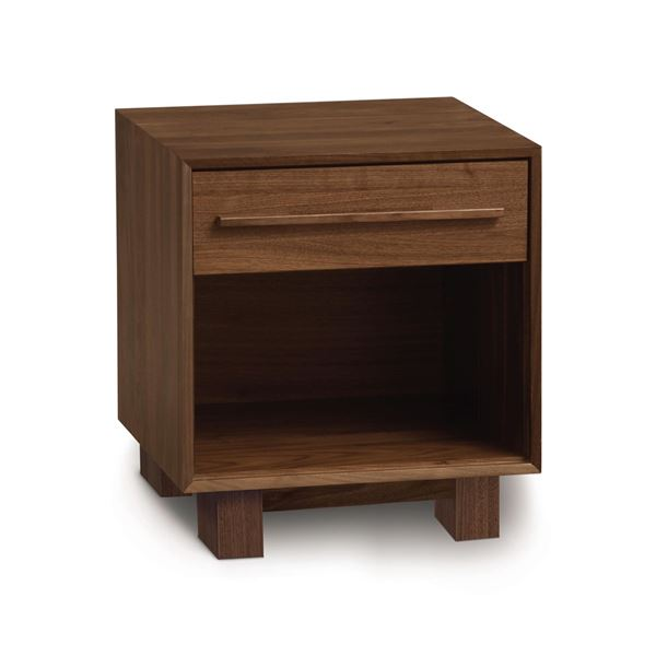 Picture of Copeland Furniture Sloane Walnut 1 Drawer Nightstand